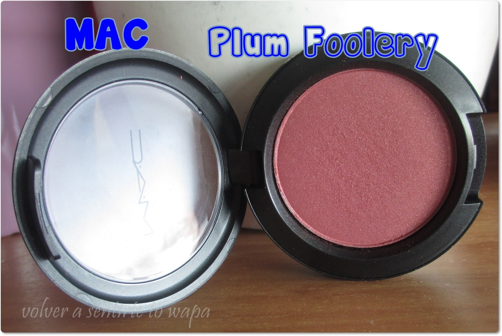 MAC Plum Foolery - review & swacthes