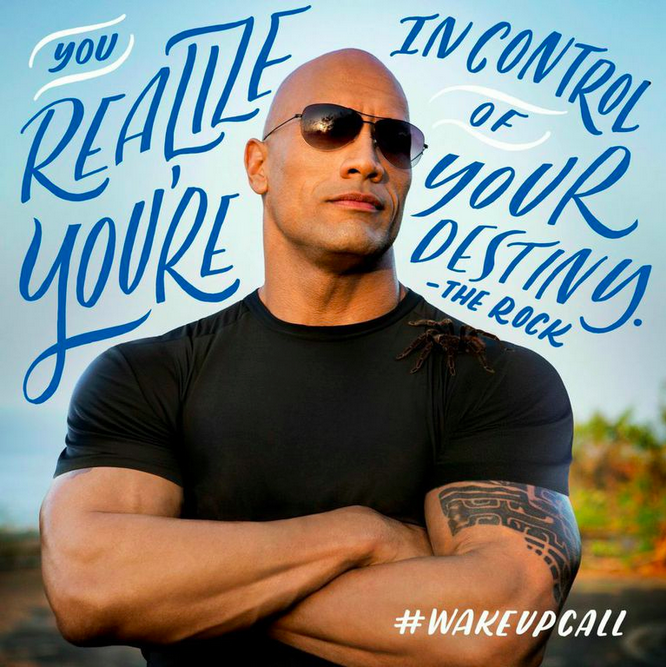 More Tips On How To Stay Motivated + Wake Up Call With The Rock!