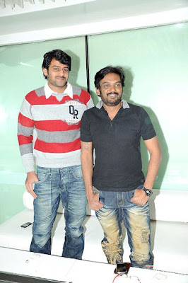 Prabhas with director puri jagannath