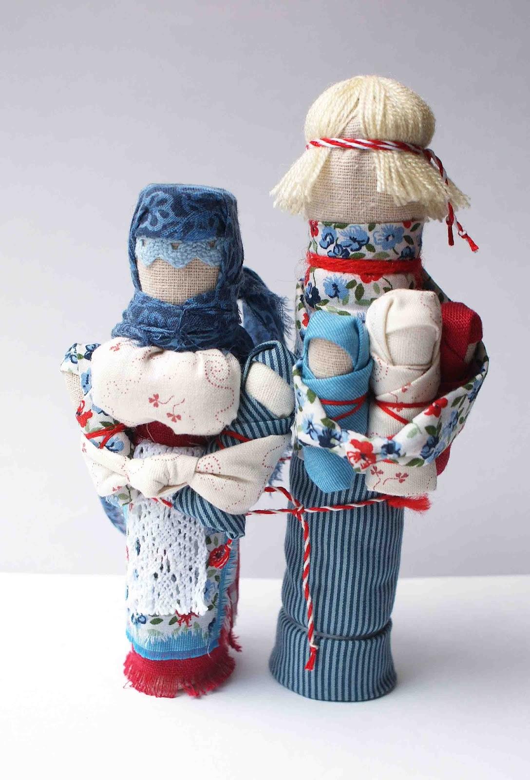 Кукла на удачное замужество своими руками 10