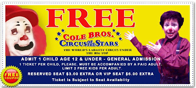 Free children's ticket