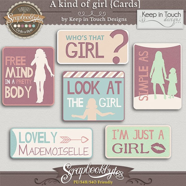 http://scrapbookbytes.com/store/digital-scrapbooking-supplies/a-kind-of-girl-cards.html