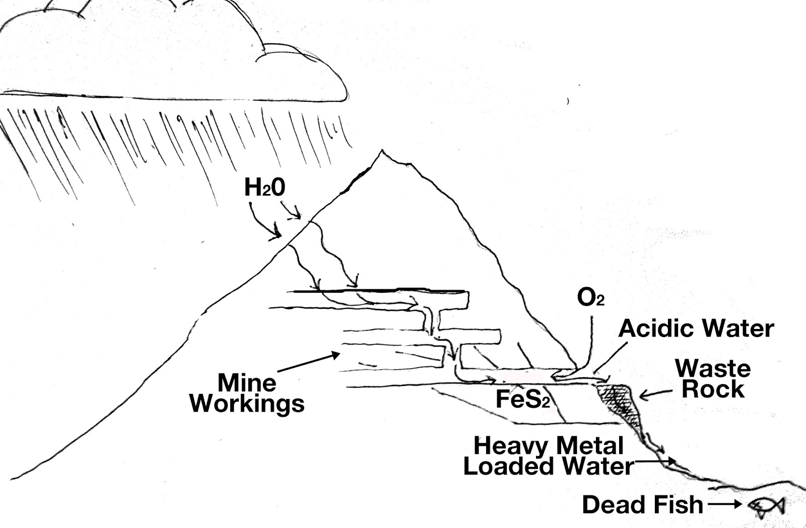 acid mine drainage effects on humans