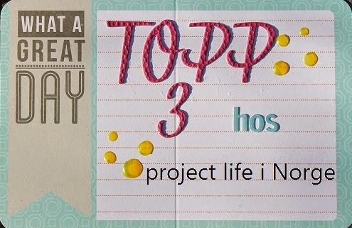 Project Life Norge Topp 3