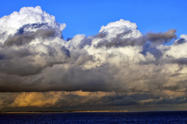 Wall art print of Gathering Storm Clouds