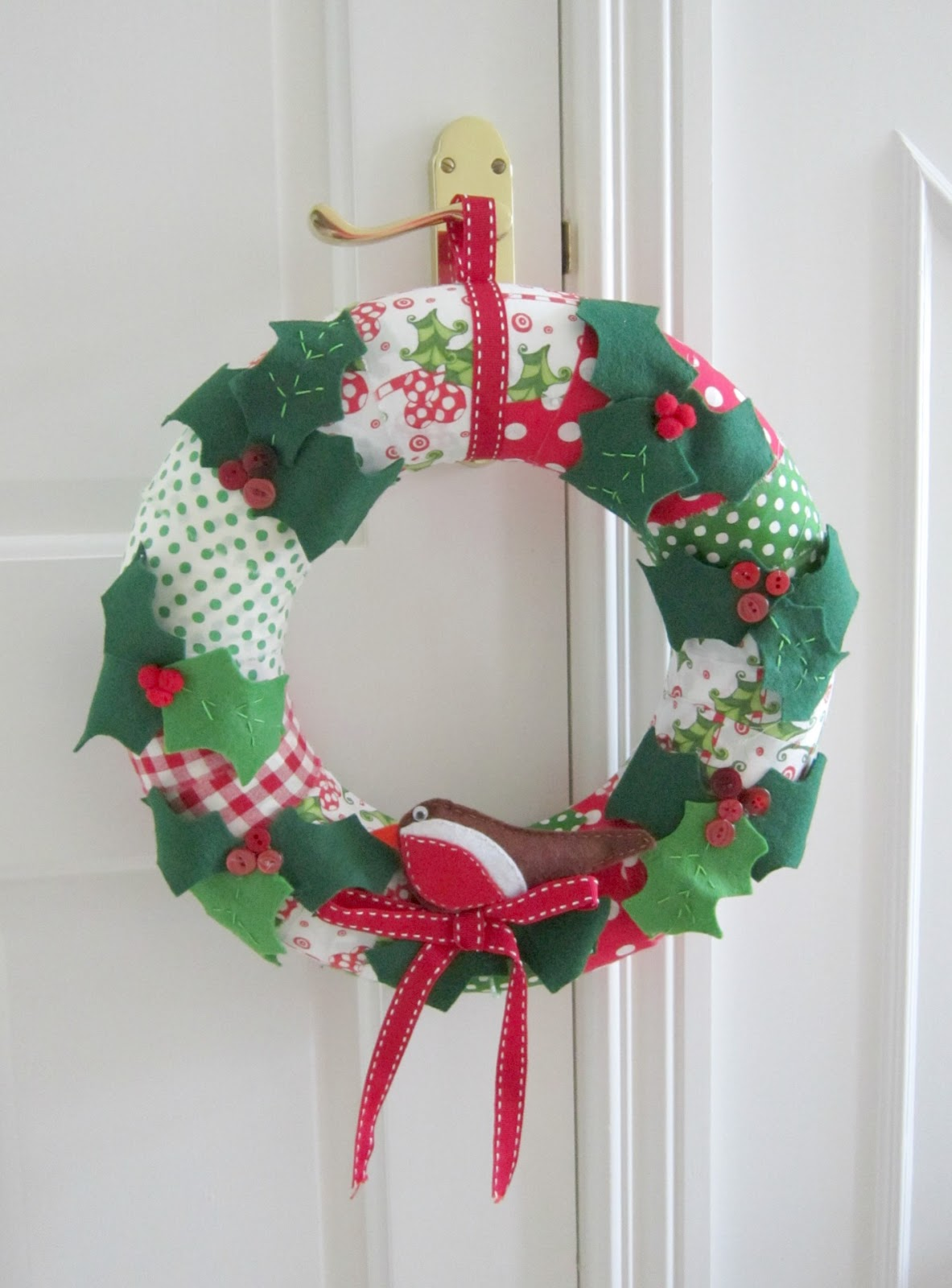 Christmas wreath the linen cloud Christmas wreaths to make