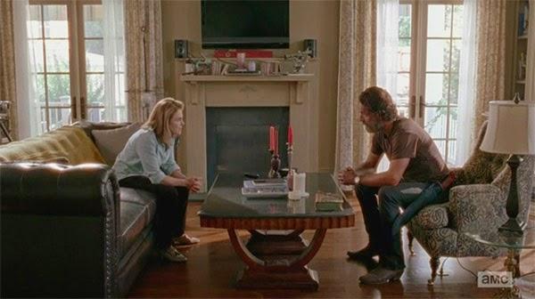 Rick y Deanna en The Walking Dead 5x12 - Remember