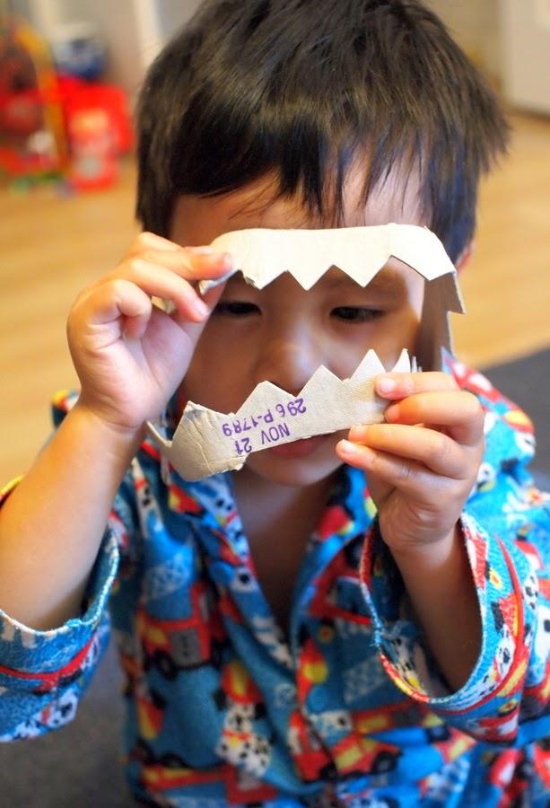make alligator/shark/dragon/dinosaur teeth