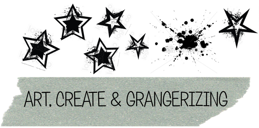 art, create & grangerizing