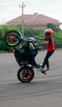 freestyle motor cilik wahyu nugraha adik wawan tembong