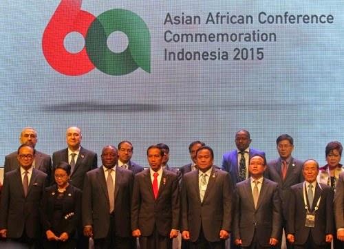 Konferensi Asia Afrika (KAA) di Bandung April 2015