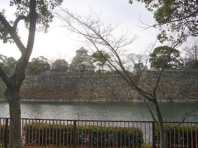 大阪城公園散歩 北外堀 大阪城