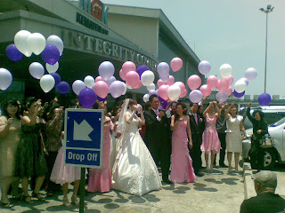 Balon Gas Pre Wedding