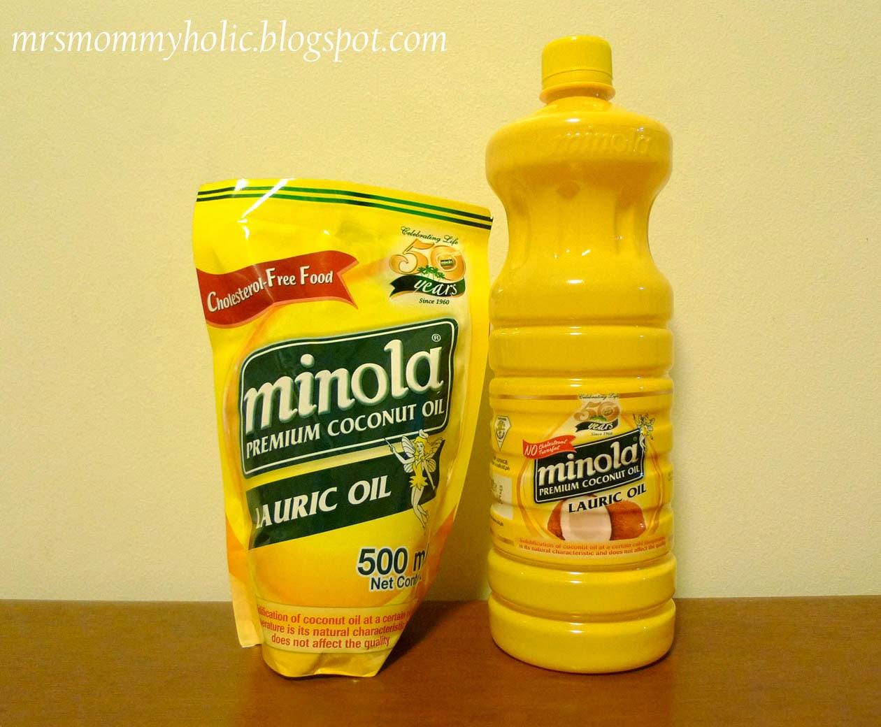 Mrsmommyholic The Many Health Benefits Of Minola Coconut Oil