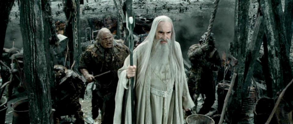 Saruman Speech Fellowship Of The Ring