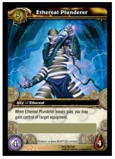 Ethereal Plunderer- WoW TCG