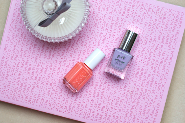 pastel spring nail polish 2015 essie orange p2 lilac