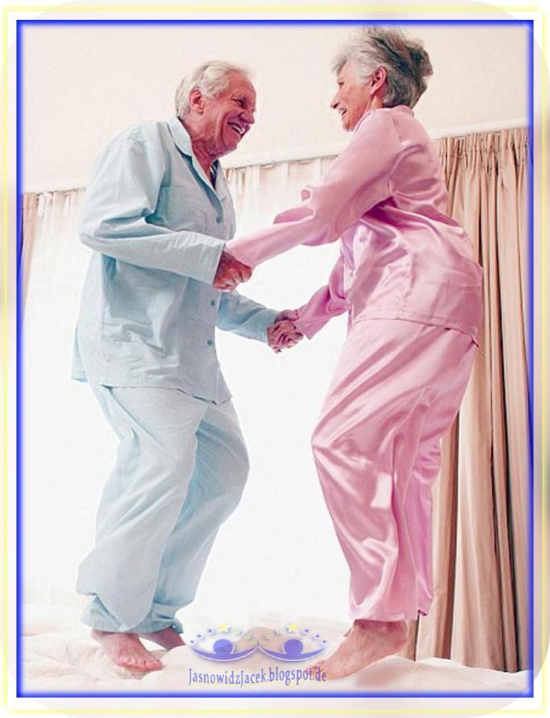 Miłość szczęście i radość bez względu na wiek