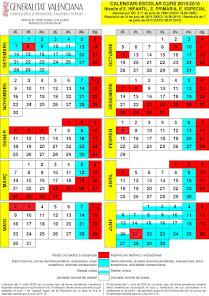CALENDARI CURS 2014-2015