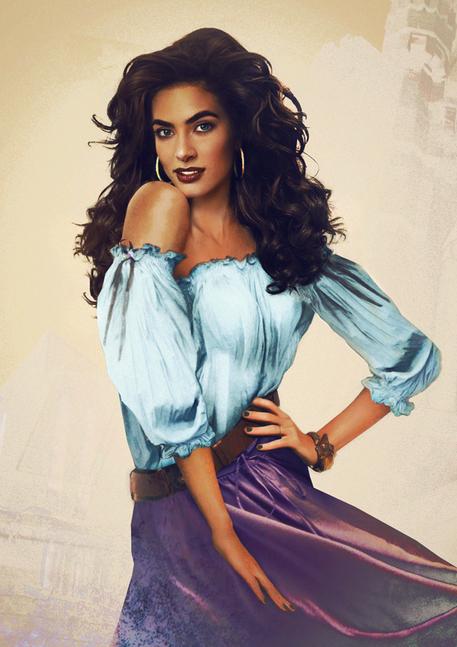 Esmeralda de El jorobado de Notre Dame