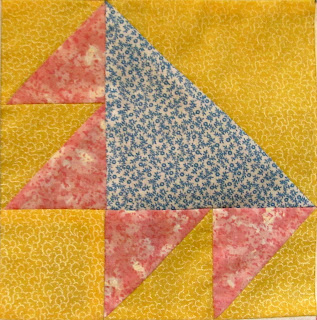 How to make a simple quilt block