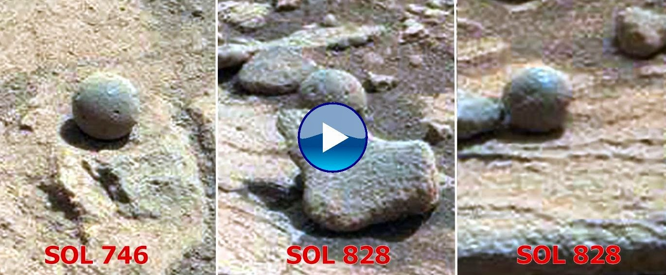 Ancient aliens on mars statues