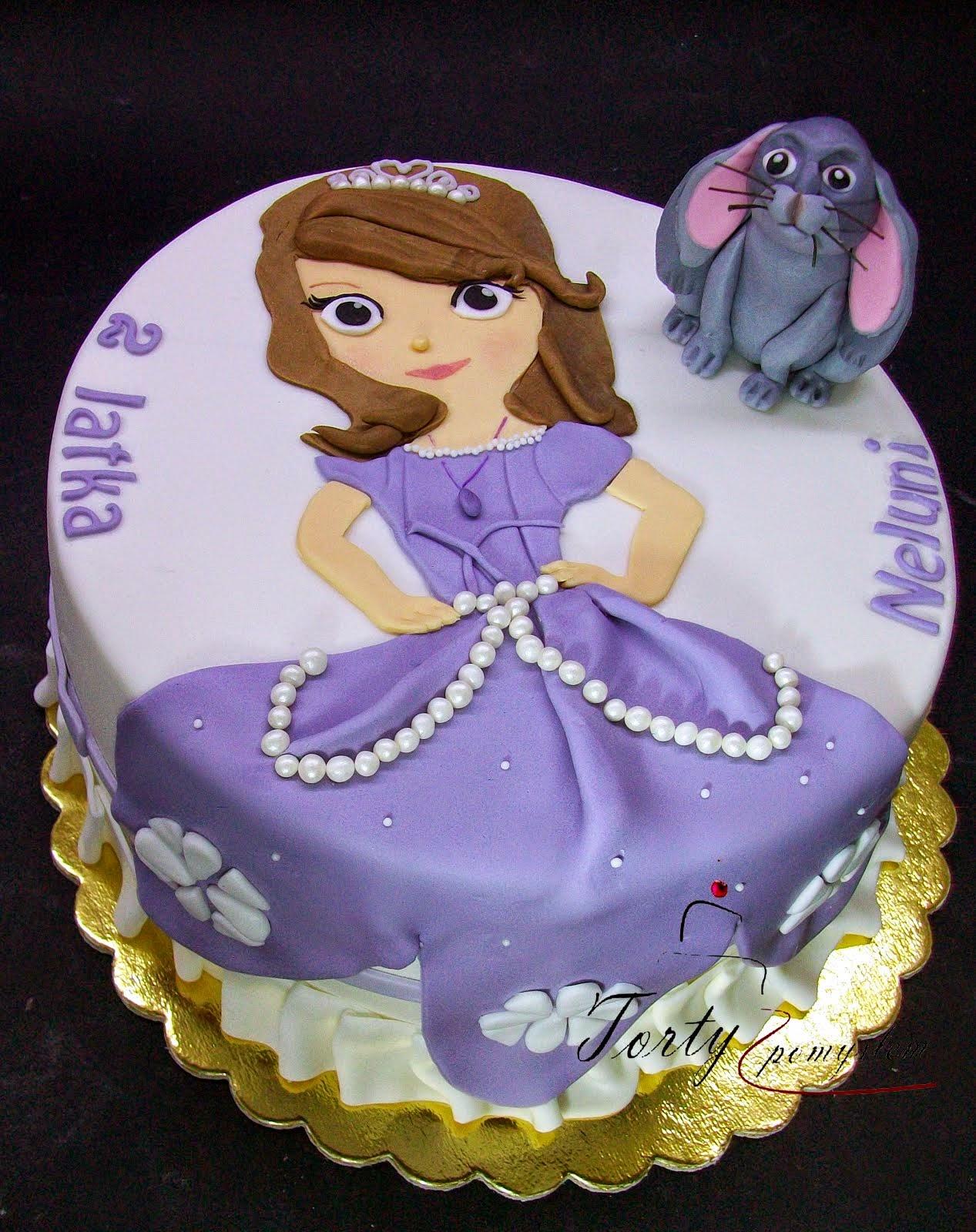 tort dla dziewczynki