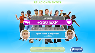 the sims freeplay casamento