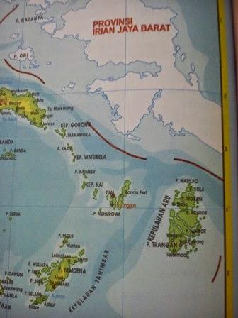 Peta jalur Ekspedisi Surabaya Dobo