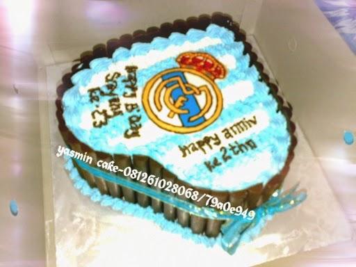 Cake tema real madrid fc