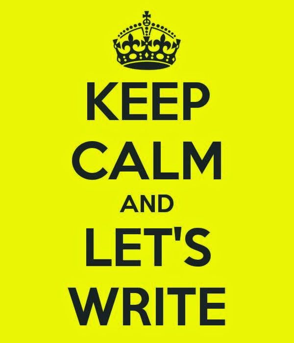 Keep Calm and Lets Write