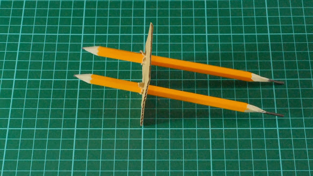 Space pencils so they won't touch.