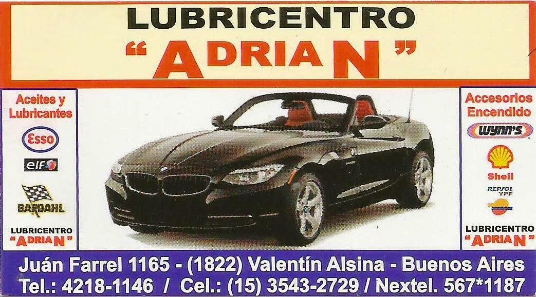Lubricentro ADRIÁN