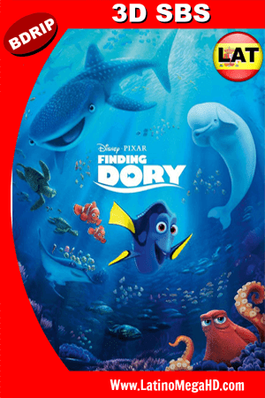 Buscando a Dory (2016) Latino Full HD 3D SBS BDRIP 1080P (2016)
