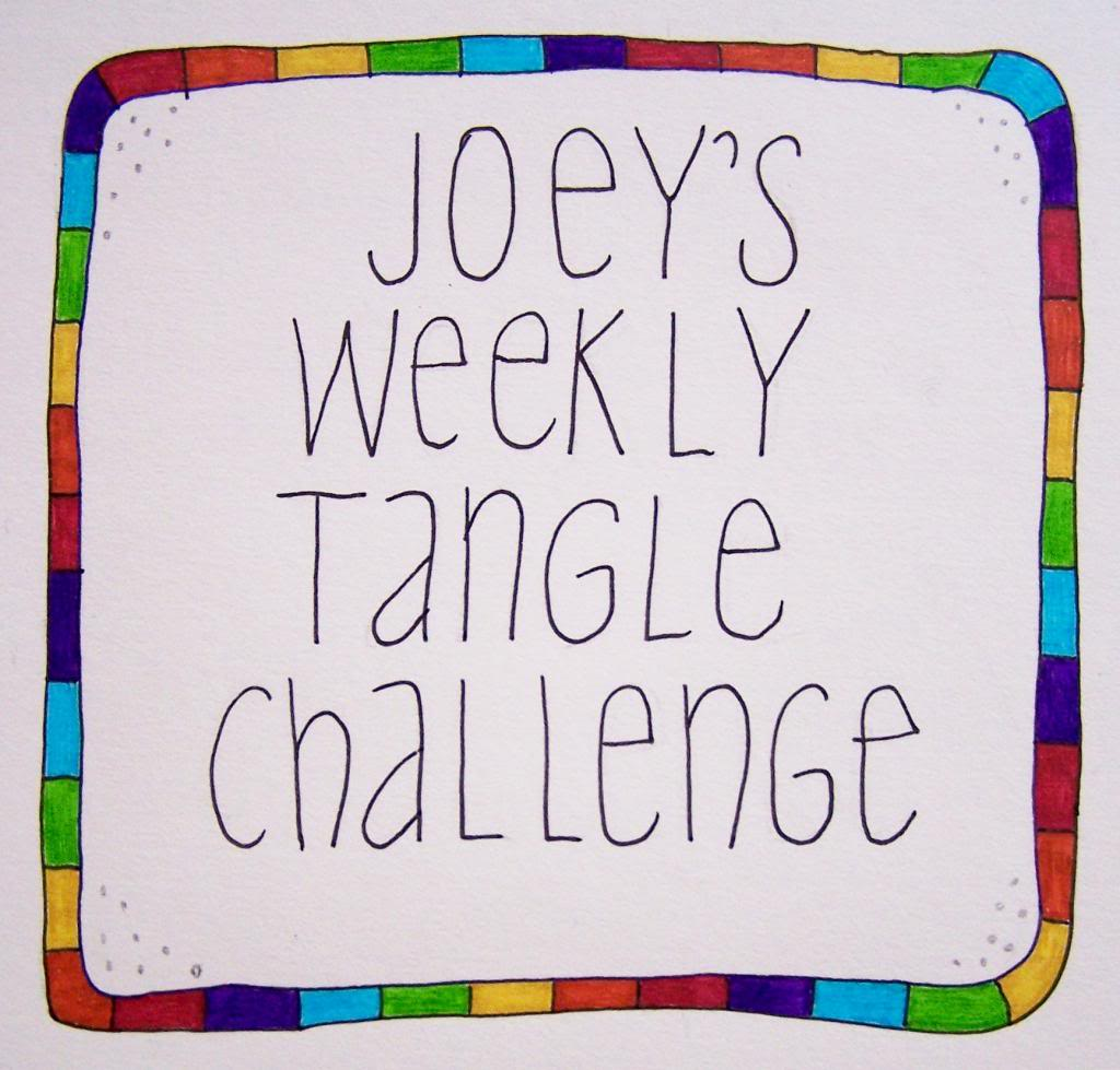 Joey's weekly tangle challenge