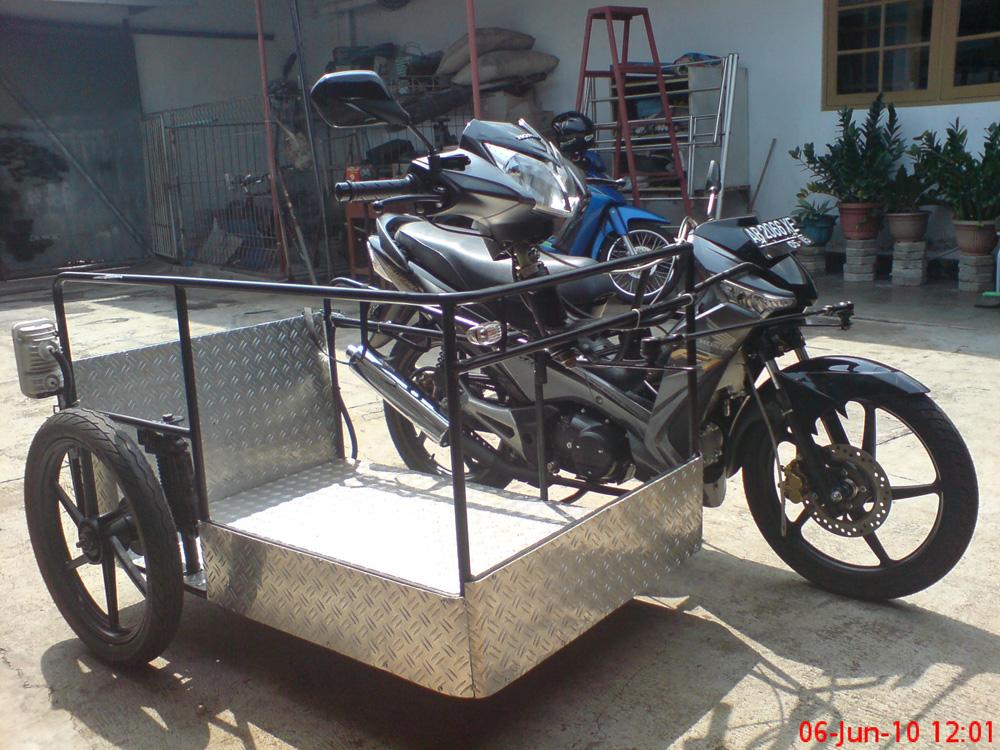Modifikasi Motor Untuk Difabel Modifikasi Motor Roda 3 Untuk