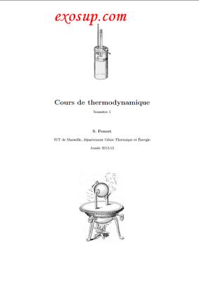 cours thermodynamique 1 s1
