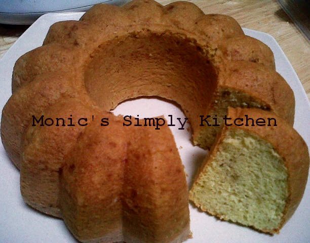 Cake Pisang Sederhana dan Praktis