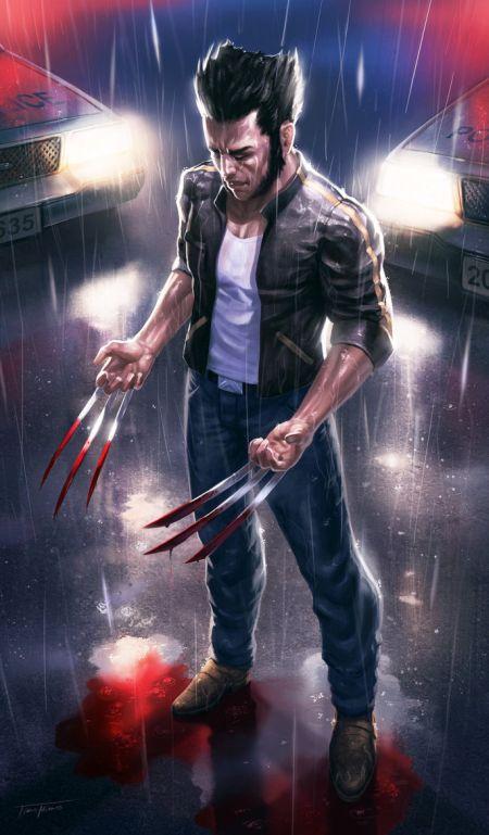 Timo Mimus crackbag deviantart ilustrações fantasia arte conceitual Wolverine