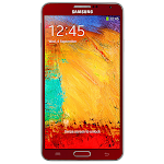 Red Samsung Galaxy Note III