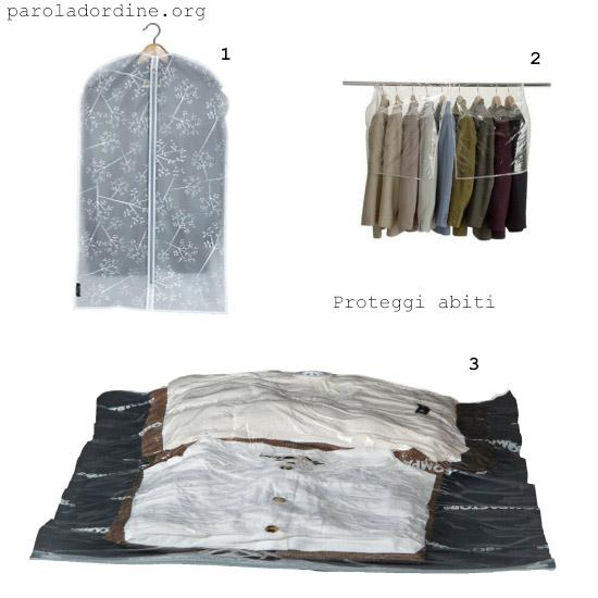paroladordine-da avere-armadio-proteggi abiti