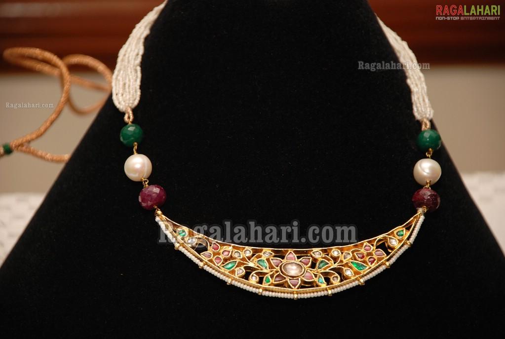 Simple But Elegant Rajputi necklace or Ranihar | Rajputi Jewelry
