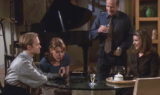 Frasier, Daphne, and Niles help Roz make a demo tape.