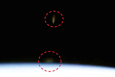 UFO's Caught On NASA Space Station Cam 2015, UFO Sightings