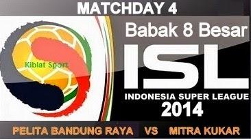 Jadwal & Hasil Pertandingan PBR Vs Mitra Kukar, Babak 8 Besar ISL 2014