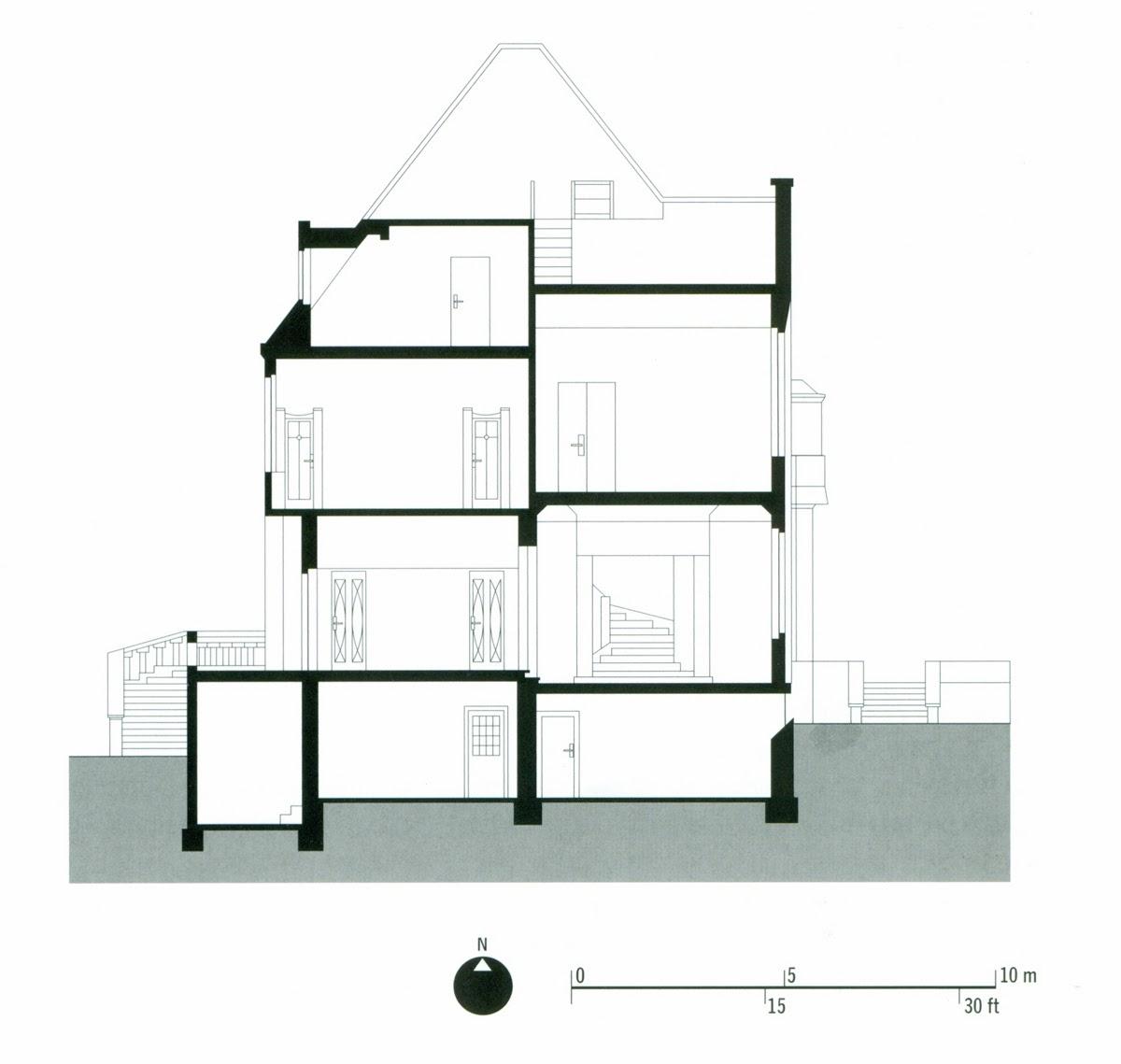 Historia de la arquitectura moderna peter behrens for Behrens house
