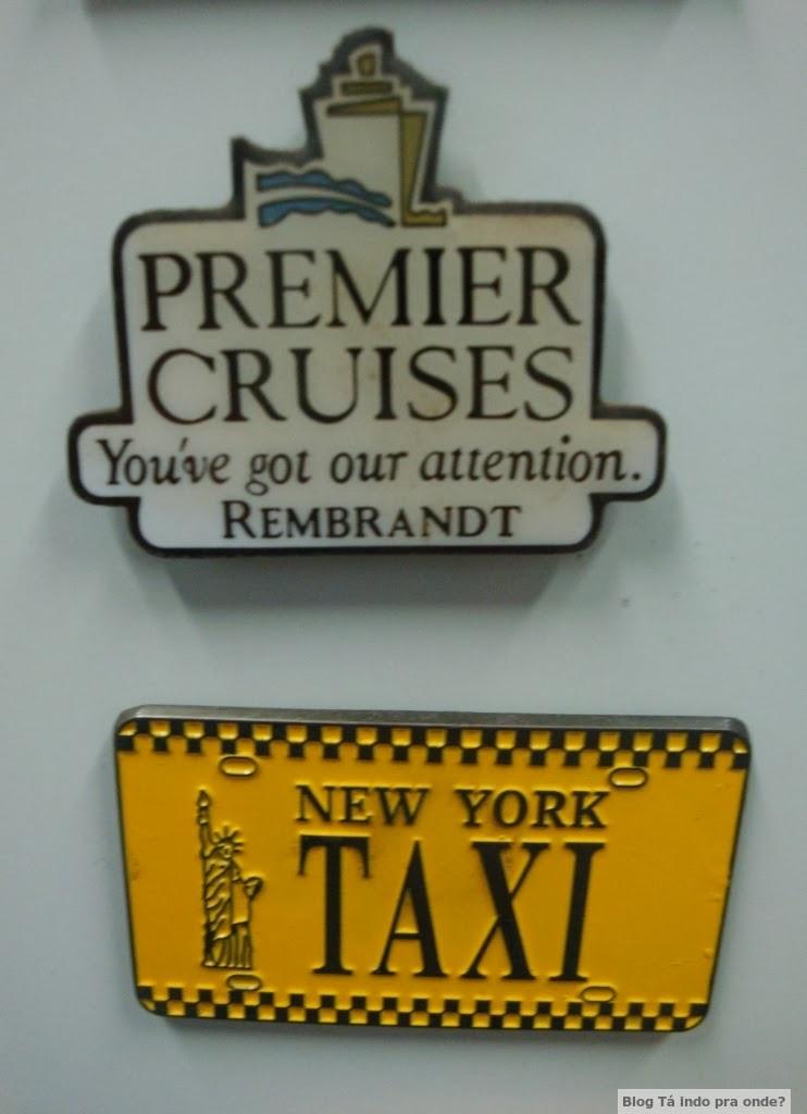 Imãs Premier Cruises e Nova York