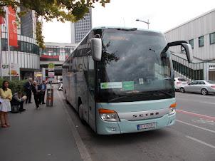 Friday(4-9-2015):-Edberg Bus terminal in Vienna.