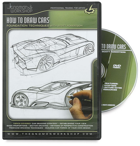 Blog For Cars How To Draw Cars With Scott Robertson Dvdrip