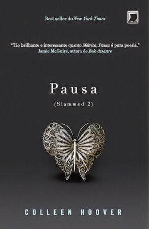 Capa - Pausa - Colleen Hoover - http://www.silencioqueeutolendo.com.br/